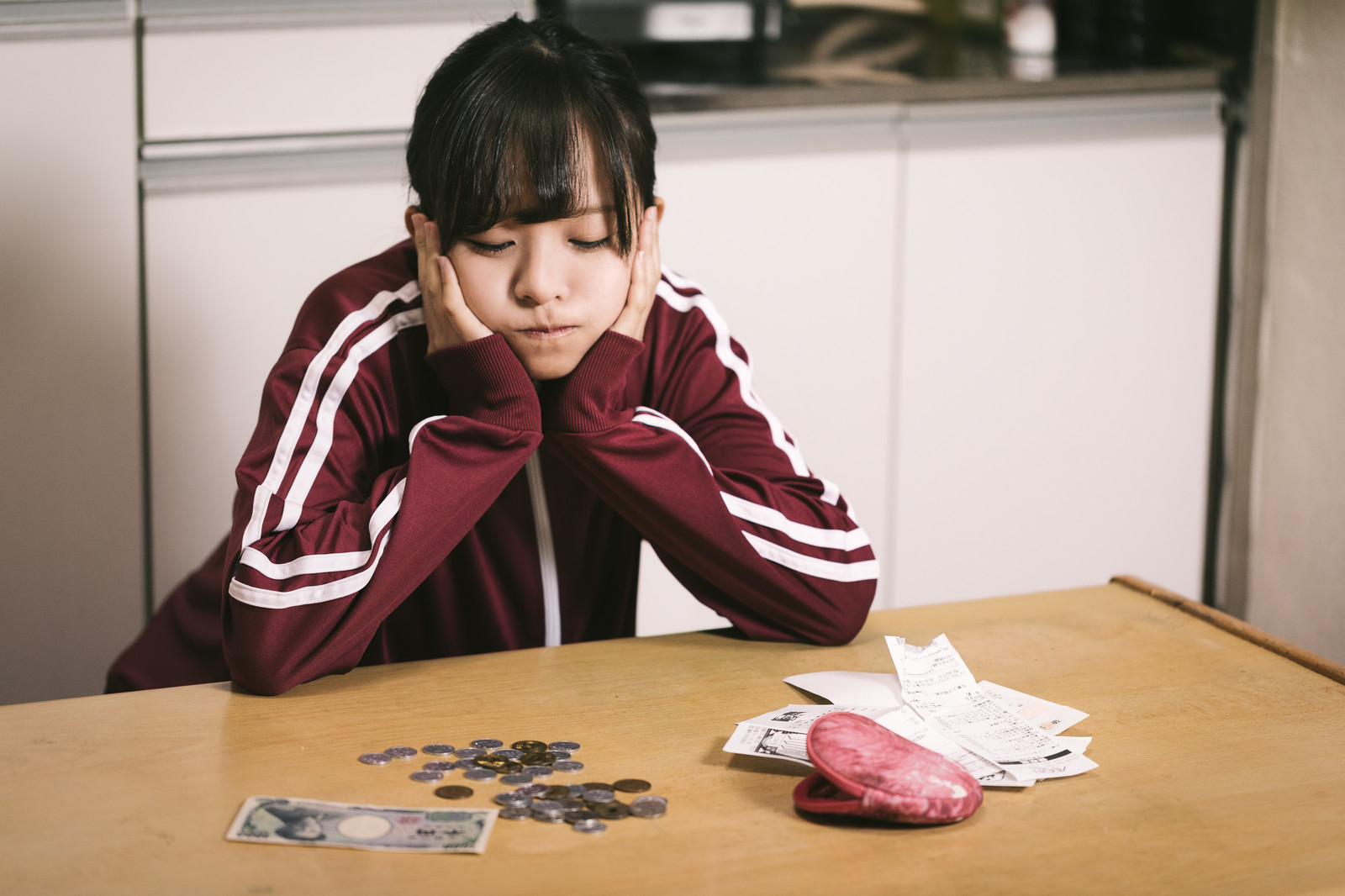 手取り16万円女子